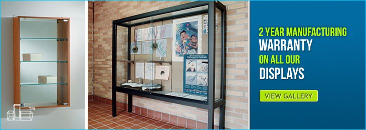 Custom Display Cabinets