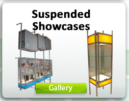 Suspended Showcases